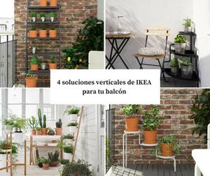 Soluciones para balcones y terrazas pequeños Fityourhouse mobiliario para balcones