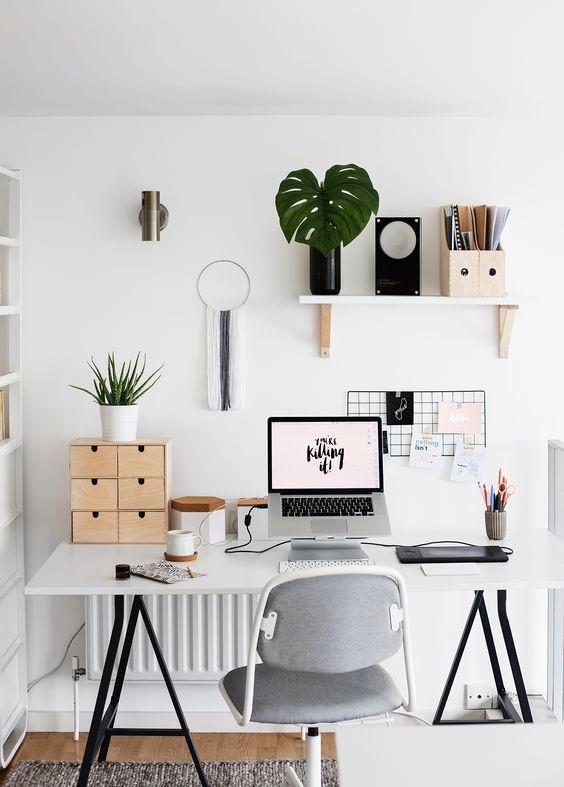El espacio de trabajo perfecto tiene seguramente este aspecto. #decoracion #ikea #workspace