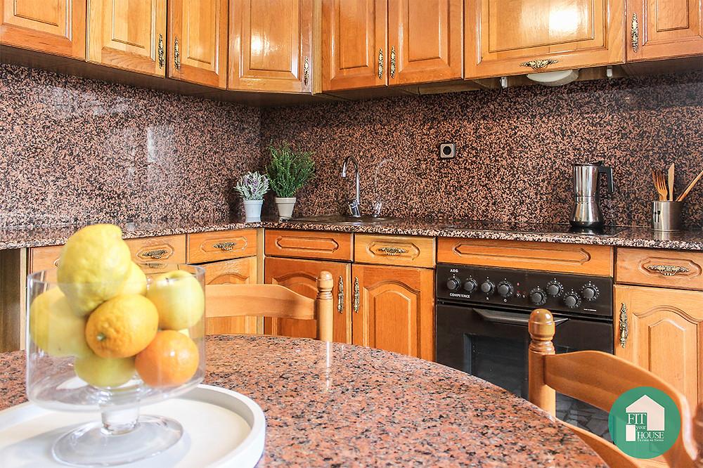 Cocina después de Home Staging Fityourhouse