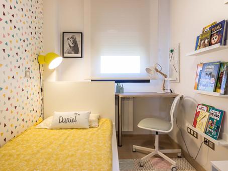DECORACIÓN: Dos dormitorios infantiles llenos de energía para los peques de la casa