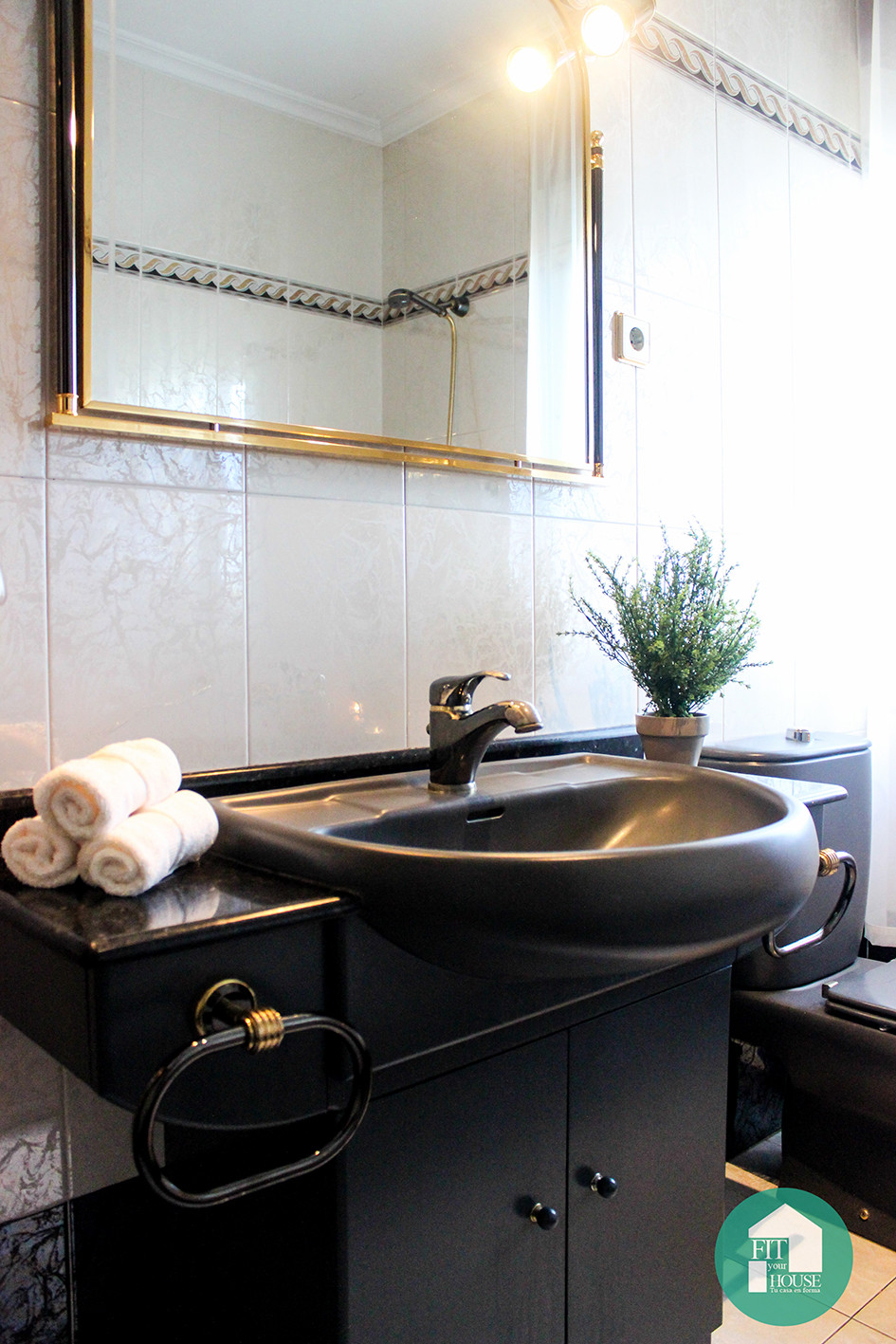 Baño después de Home Staging Fityourhouse Cantabria