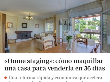 ABC dedica un artículo al Home Staging