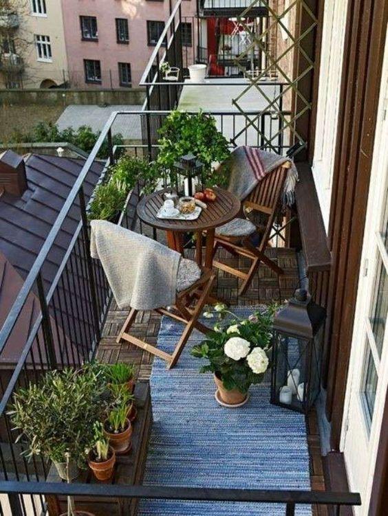 decora tu balcón ideas para balcones pequeños