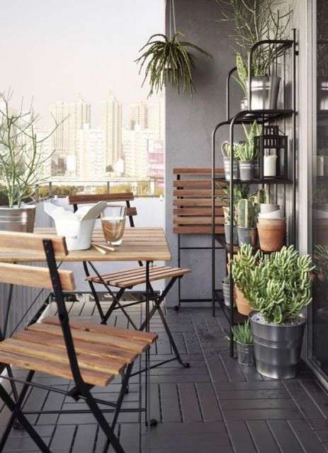 Ideas para un balcón de 10 ideas para balcones pequeños decoracion Fityourhouse