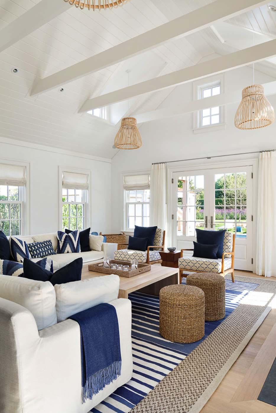Colores azules, arenas y blancos para refrescar_ Fityourhouse