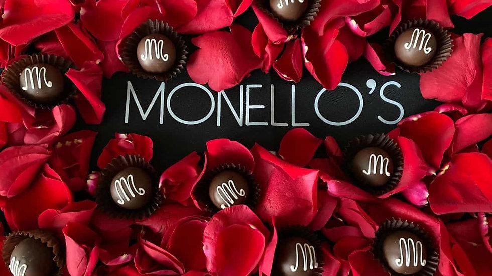 Monello's Signature Dark Chocolate Champagne Truffle