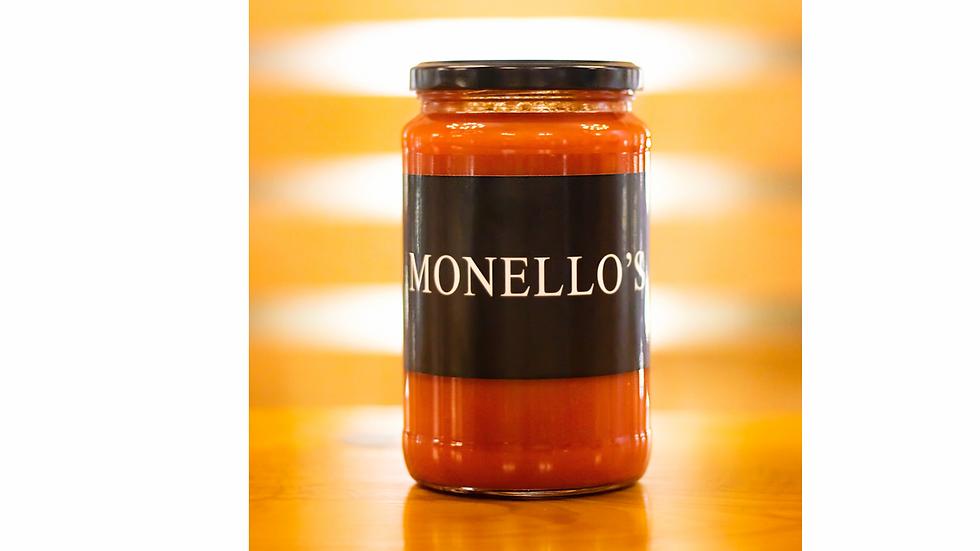 Monello's Signature Homemade Red Sauce
