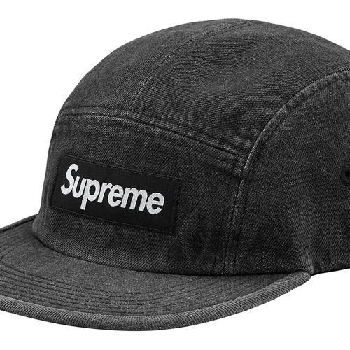 Supreme Suede S Logo 6 Panel Black 54c4d76c1