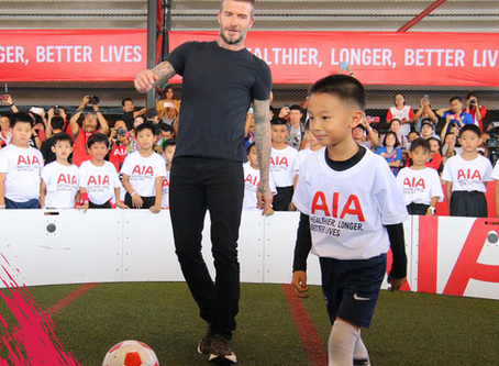 David Beckham in the ICON