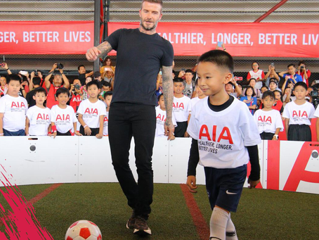 David Beckham in the ICON