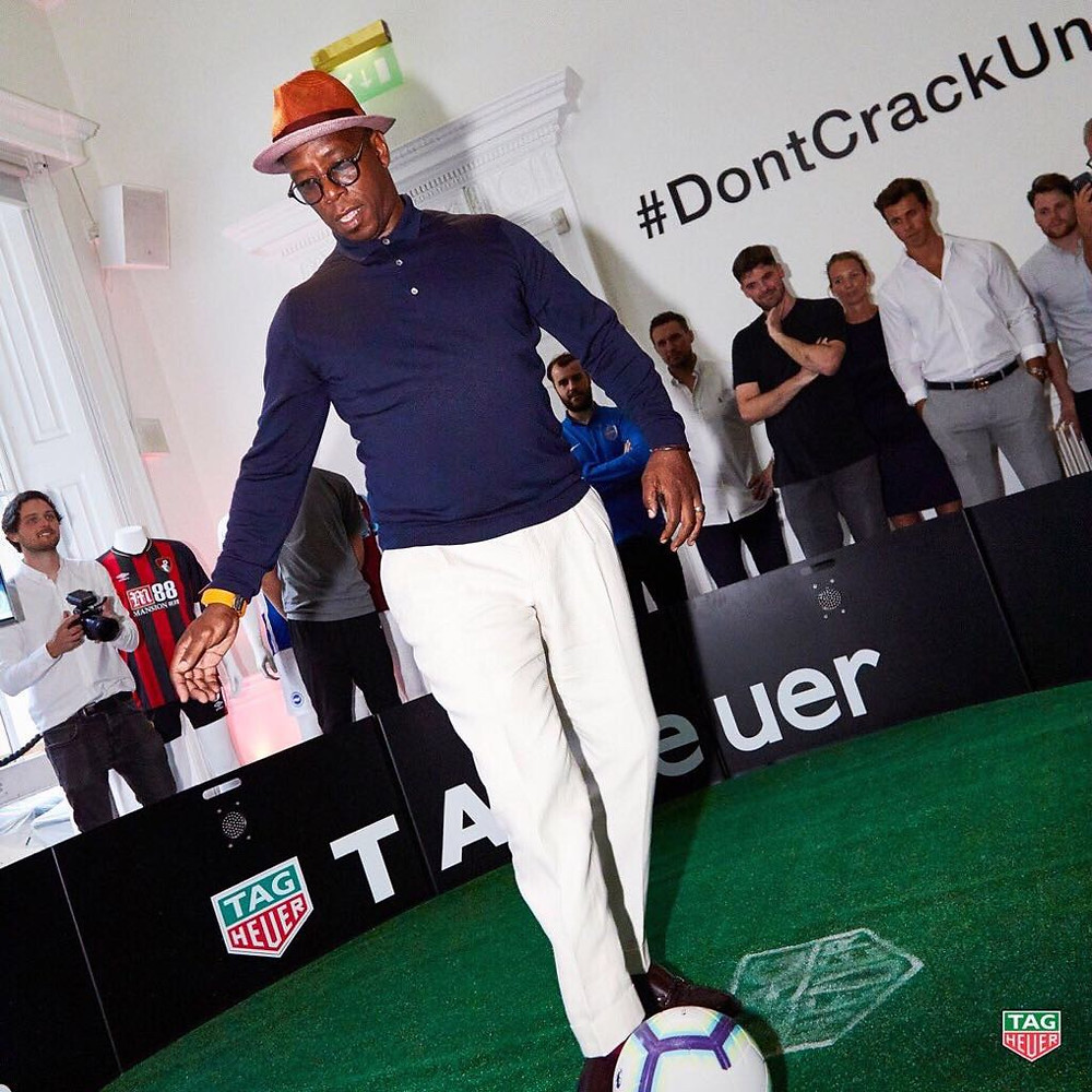 Ian Wright challenged himself in the ICON for TAG Heuer and ESA