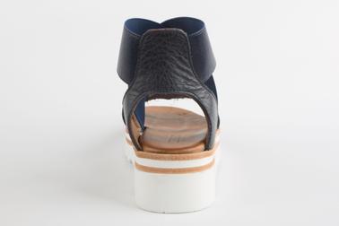 Nue pieds tendances, vue de dos