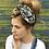 Thumbnail: Black paisley print turban band