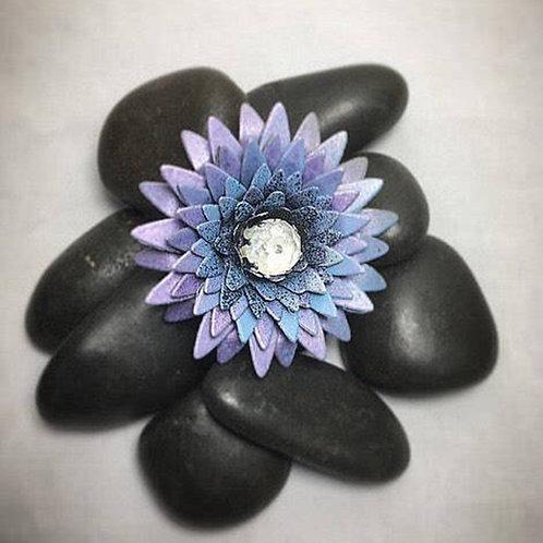 Lavender brooch-clip