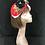 Thumbnail: Red black turban flower band