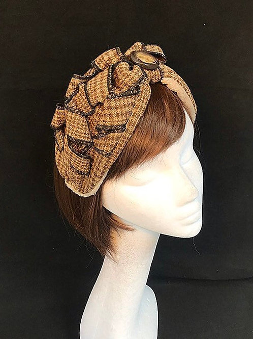 Brown Vintage headband TB22