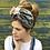 Thumbnail: Grey brocade turban