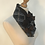 Brown ruffle cravat