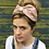 Thumbnail: Pink polka dot turban band