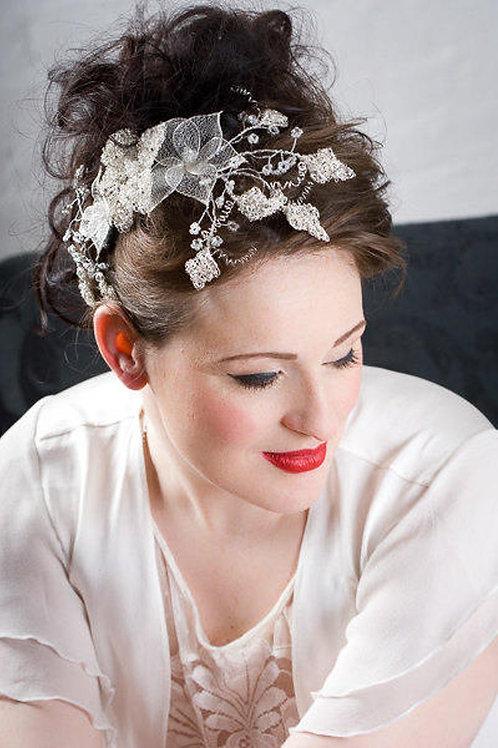 Silver hair vine 108