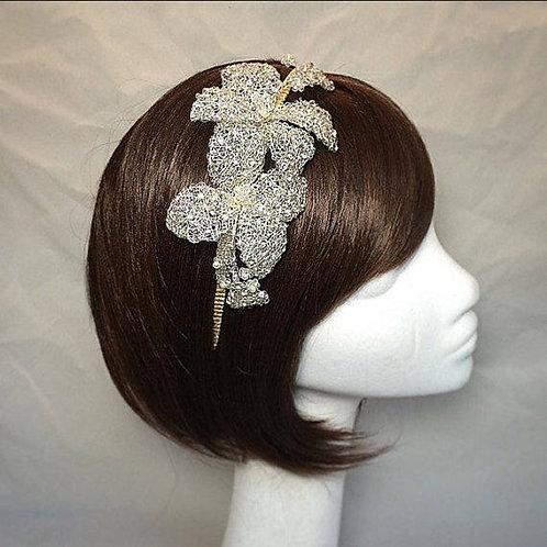 Flower side tiara 112