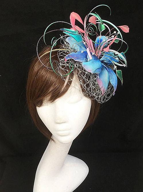 Fascinator Tropical 39