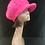 Pink Angora cap