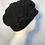 Black percher hat
