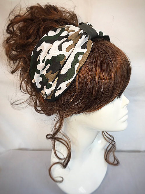 Army turban headband