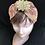 Thumbnail: Gold flower metallic turban band