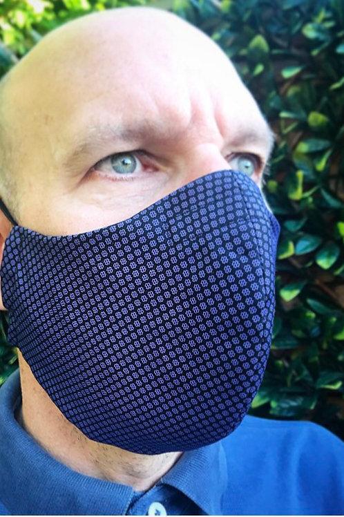 Mans large purple Face mask