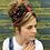 Thumbnail: Black red cherry turban band