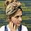 Thumbnail: Beige deluxe fleece lined flower band