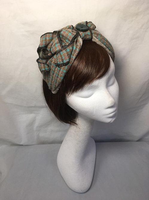 Tweed half turban TB3
