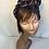 Thumbnail: Asymmetrical denim turban band