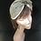 Thumbnail: Beige flower turban band