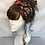Vintage floral turban