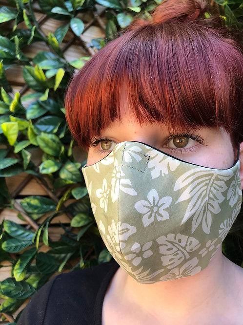 Pistachio flower face mask