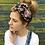 Thumbnail: Black floral turban band