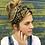 Thumbnail: Paisley quilted turban band