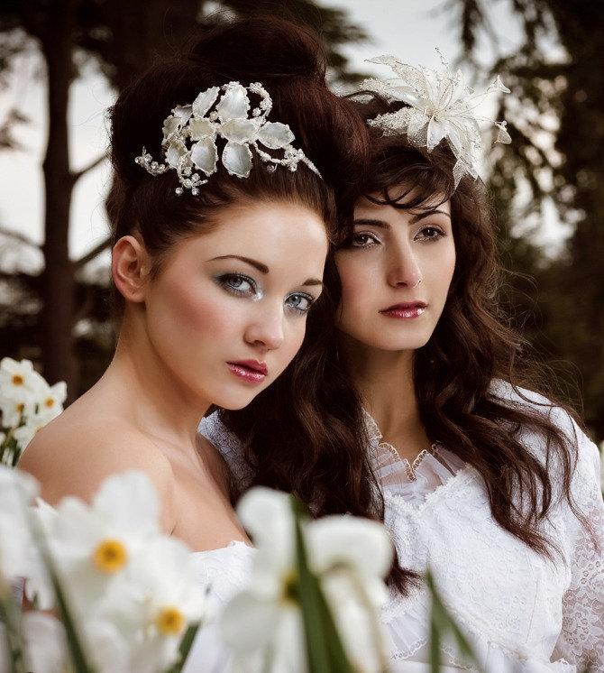 wedding fascinators and tiaras, bespoke wedding hats and ocassion headddresses