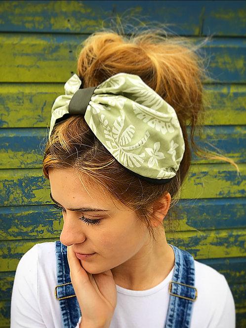 Pistachio green turban