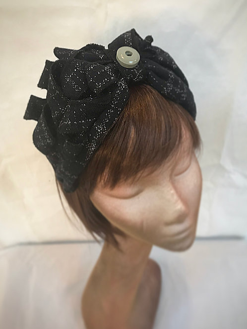Dark navy turban band