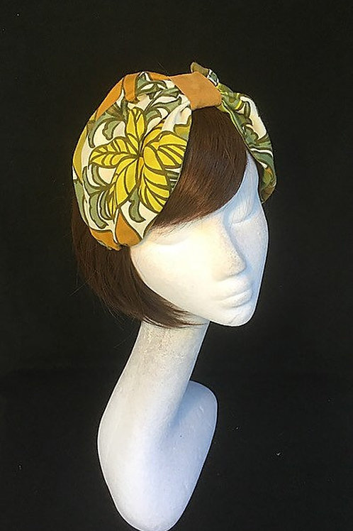 Tropical print turban CB10