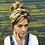 Thumbnail: Green vintage flower turban band