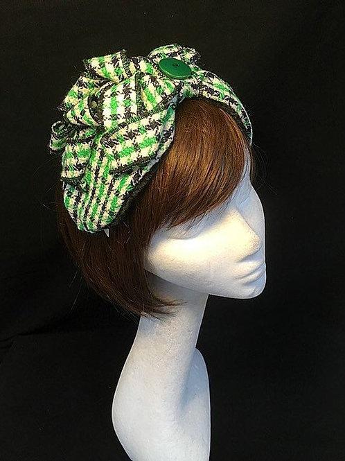 Green half turban TB1