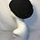 Black retro style beret