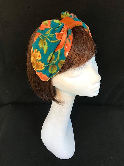 Exotic print turban CB30