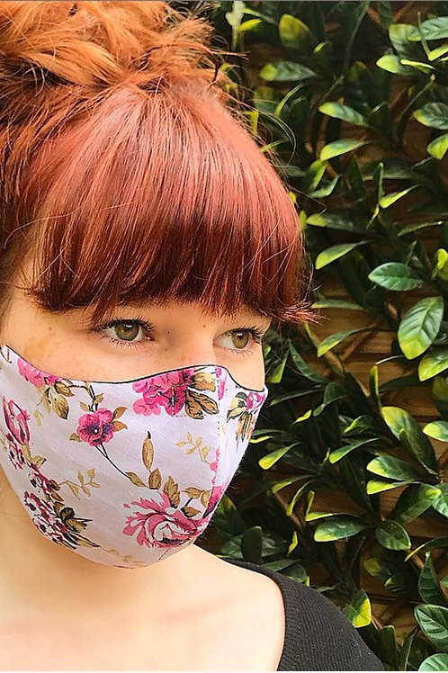 Dusty pink facemask