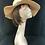 beige vintage hat